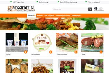 Veggiedeli, de beste 100% plantaardige webshop
